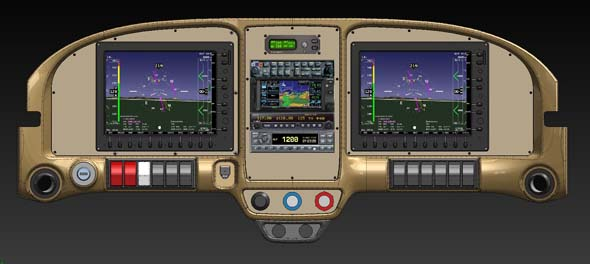 RV-7 and RV-9 Instrument Panels Available