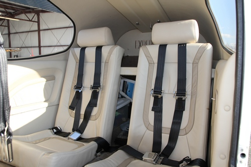 Rear Seats with Headrest