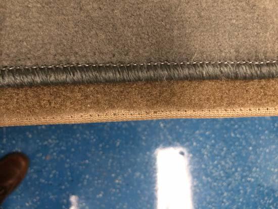 carpet seam