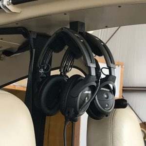 belt, headset hangar
